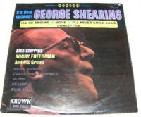 "George Shearing-Its Real George (Secondhand) [12"" LP 1970]"